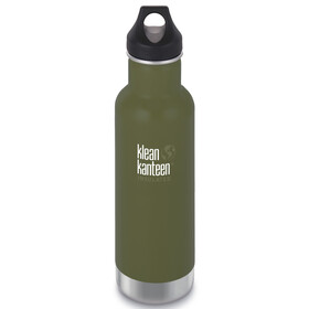 Klean Kanteen Classic Vacuum Insulated Drinkfles Loop Cap 592ml olijf